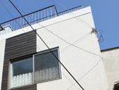 外壁の、サイディングへ変更した施工事例写真です。