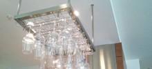 ワイングラスハンガーを設置した施工事例です。