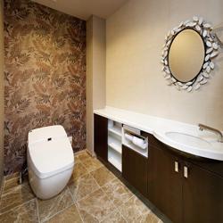 トイレの写真です。