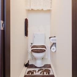リフォーム後のトイレの写真です。